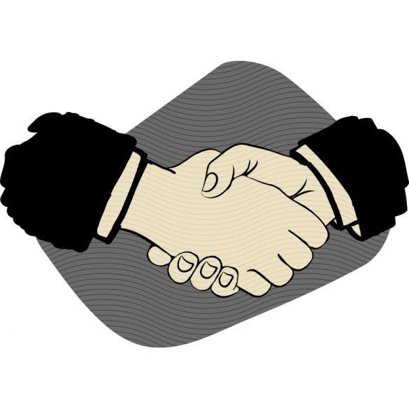 Рукостискання, ілюстрації для блогів_11
