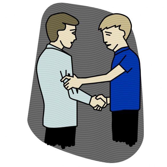 Рукостискання, ілюстрації для блогів_10