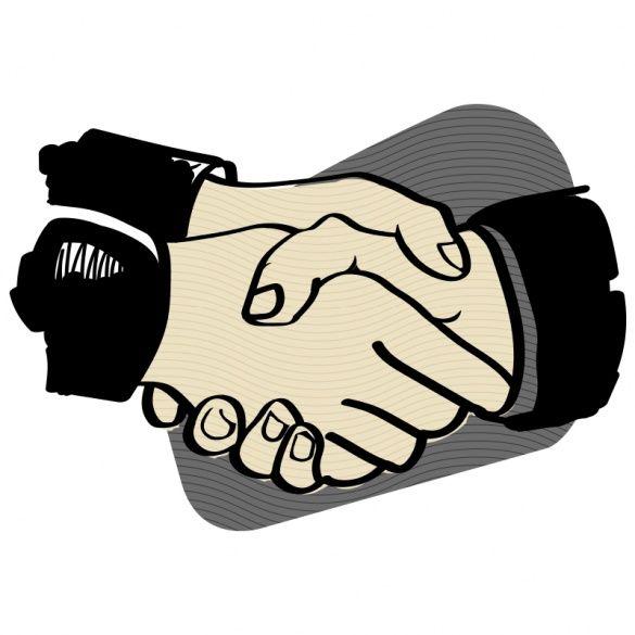 Рукостискання, ілюстрації для блогів_6