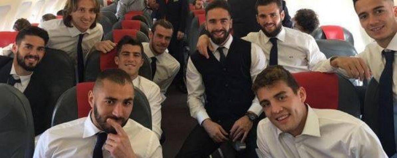 """""""Реал"""" полетів на бій з """"Манчестер Сіті"""" з Роналду та Бензема"""