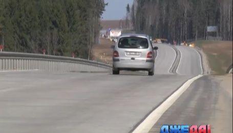 В Беларуси построили первую бетонную магистраль