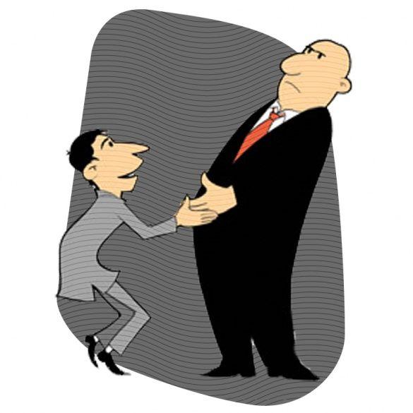 Рукостискання, ілюстрації для блогів