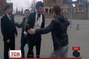 """У Москві біля Мавзолею побилися """"Пушкін"""" і """"Ленін"""""""