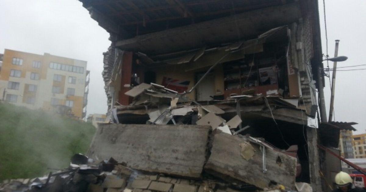 Внаслідок вибуху загинув чоловік @ Управління ДСНС Києва