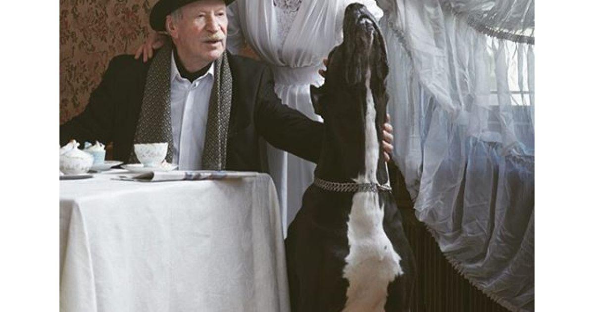 Дружина Краска поділилася результатами нового фотосету із 85-річним чоловіком.