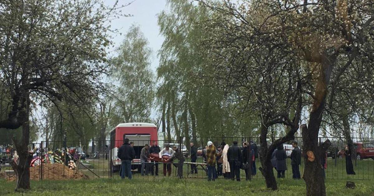 Під Києвом поховали 4-річного хлопчика, якого збив Lexus @ ТСН.ua