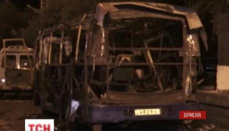Причиною вибуху в пасажирському автобусі в Єревані стала вибухівка