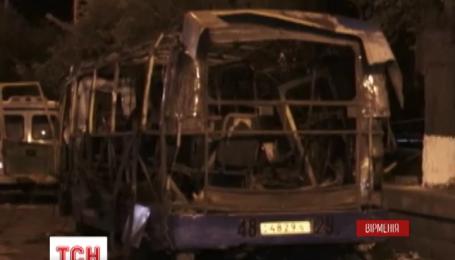 В Армении задержали подозреваемого в организации взрыва в пассажирском автобусе
