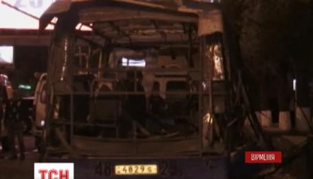 У Вірменії затримали чоловіка, підозрюваного в організації вибуху в пасажирському автобусі
