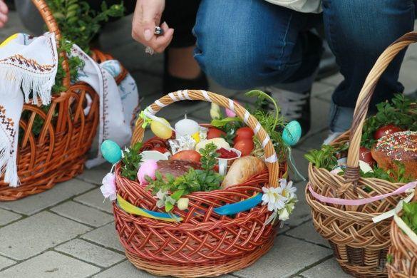 Великодній кошик, Великдень, Пасха, паска