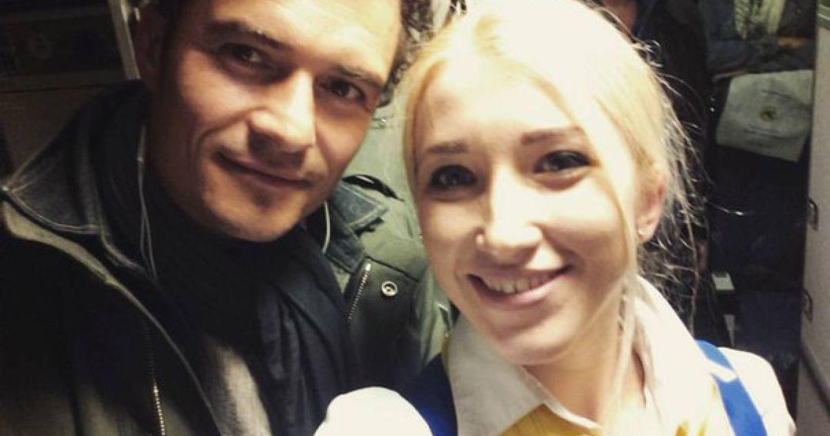 Орландо Блум в Україні