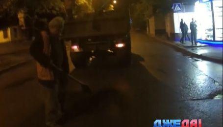 Как выглядит ремонт дорог по-украински