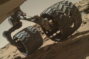 NASA показало панораму плато на Марсі
