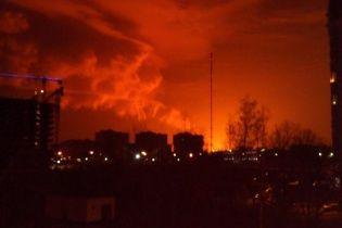 Масштабна пожежа на газогоні у Росії: стовп полум'я було видно з сусідніх населених пунктів