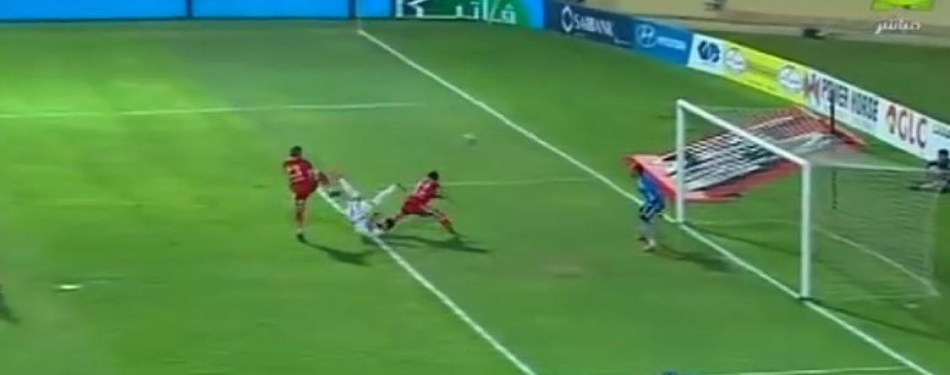 """У Єгипті гравець """"білих лицарів"""" забив приголомшливий гол """"ножицями"""""""