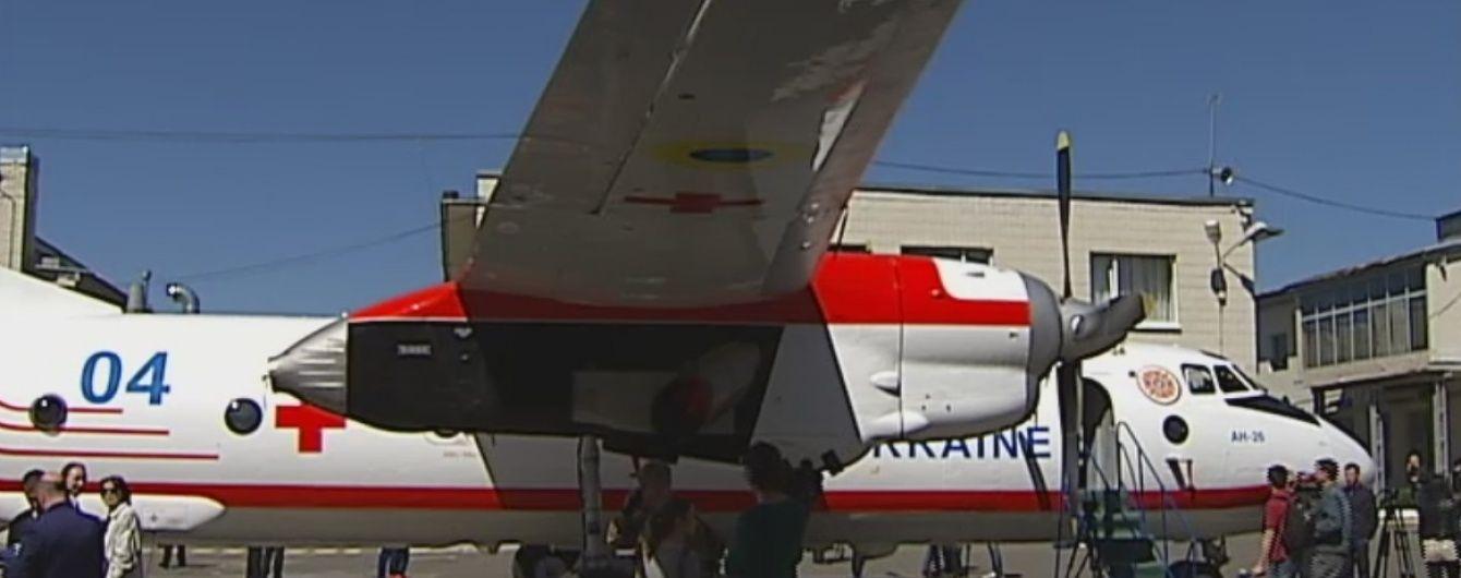Українські рятувальники отримали перший у своїй історії медичний літак