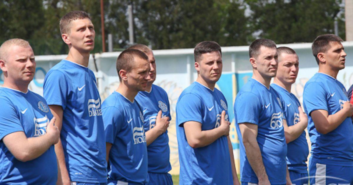 Маркевич пограв у футбол з прикордонниками. @ Мост-Днепр