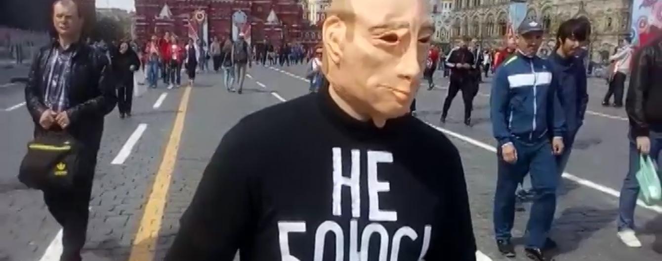 """У Москві затримали двох """"Путіних"""""""