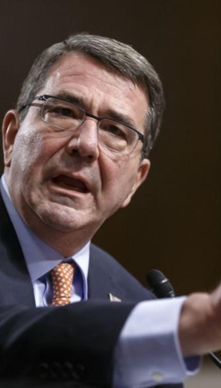 Очільник Пентагону планує приїхати в Україну для поглиблення співпраці у військовій сфері