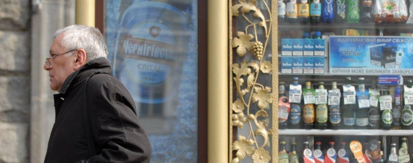У Львові зняли заборону на продаж алкоголю у кіосках