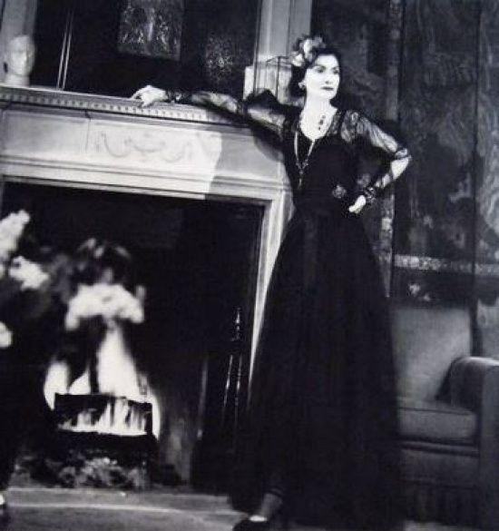 Коко Шанель в рекламе Chanel № 5