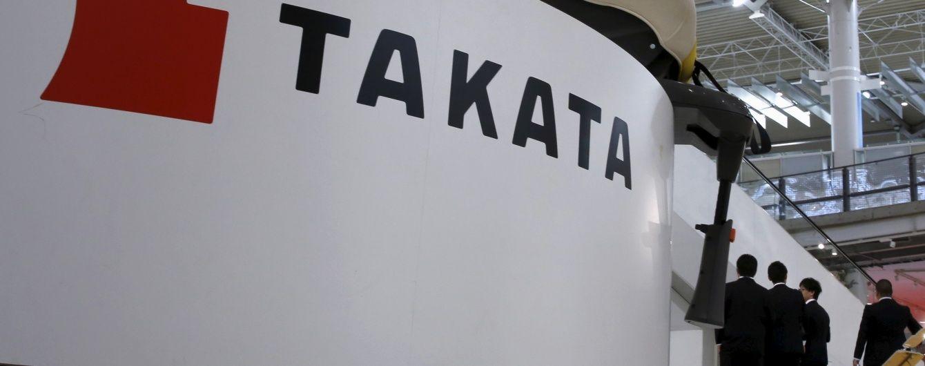Японцев заставят заменить около 40 миллионов подушек безопасности