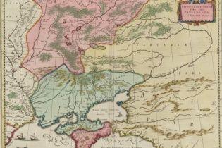 Американский коллекционер выложил в Сеть старинную карту Украины