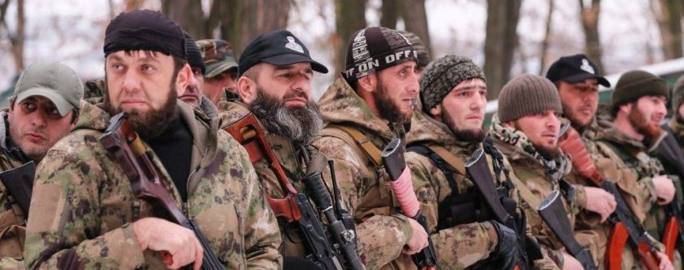 Чеченських контрактників благословили на участь у війні в Сирії