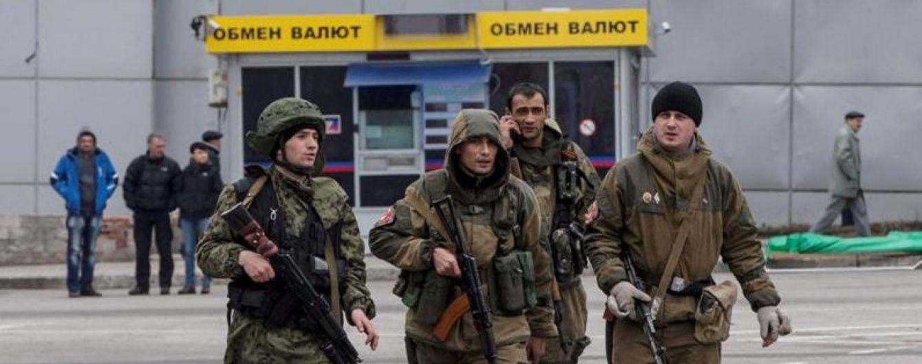 У ніч на суботу бойовики застосували проти сил АТО танк і САУ - штаб АТО