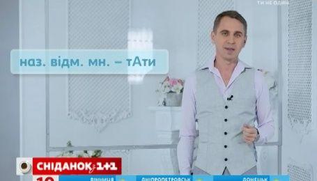 Експрес-урок української мови. Мати чи матір