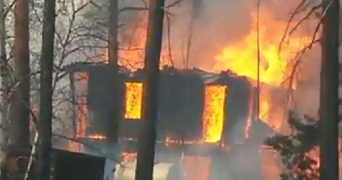 Пожар в Заречной Слободе @ ПортАмур