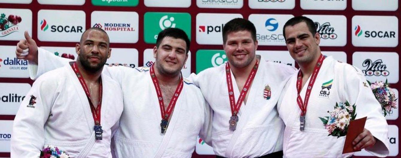 Українець став переможцем престижного турніру серії Grand Slam з дзюдо