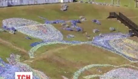 В Тайване активисты создали точную копию картины Ван Гога
