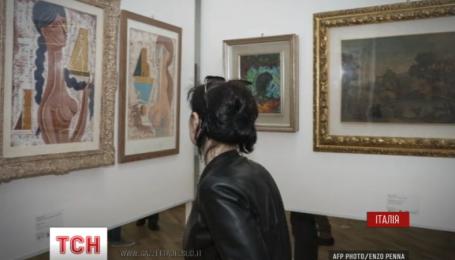 Уникальную художественную коллекцию выставили на обозрение в Италии