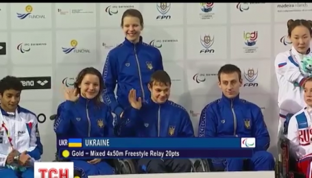 Украинские паралимпийцы привезли 110 медалей с Чемпионата Европы по плаванию