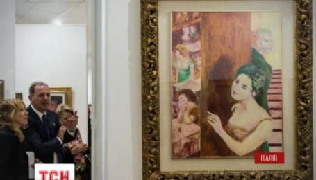 В Італії з маєтку кримінального авторитета конфіскували унікальну мистецьку колекцію