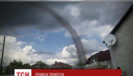 Настоящий смерч на Тернопольщине