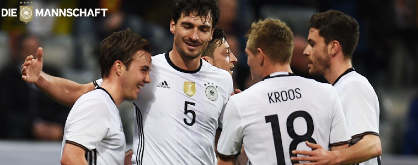 Збірна Німеччини: представляємо учасника Євро-2016