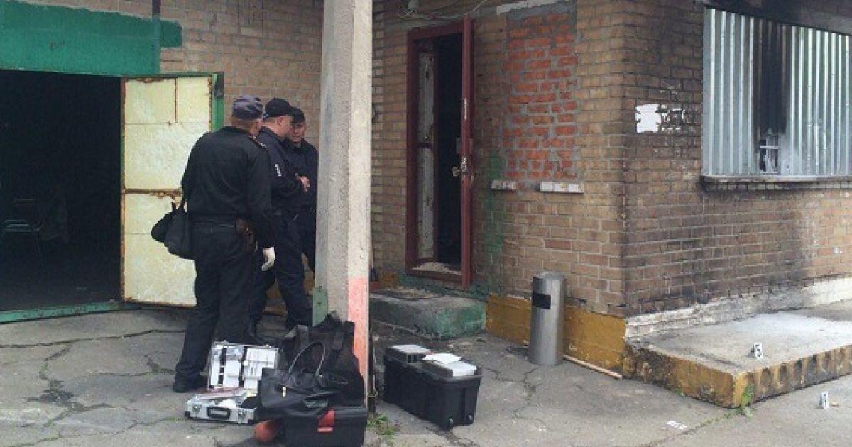 Інцидент стався на вулиці Ревуцького @ ГУ Національної поліції в Києві