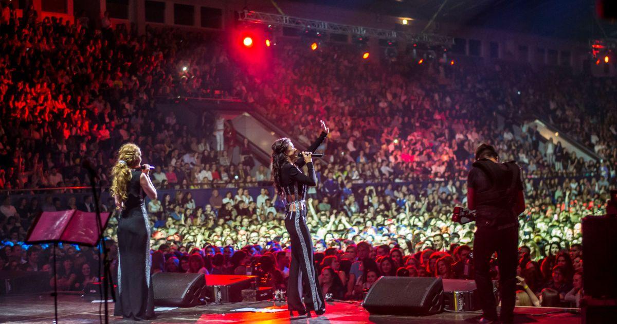 «НЕАНГЕЛИ» зібрали десять тисяч глядачів у столичному Палаці Спорту @ Фото: Володимир Петренко