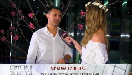 Ресторатор Микола Тищенко розповів, як хрестив сина Сергія Реброва