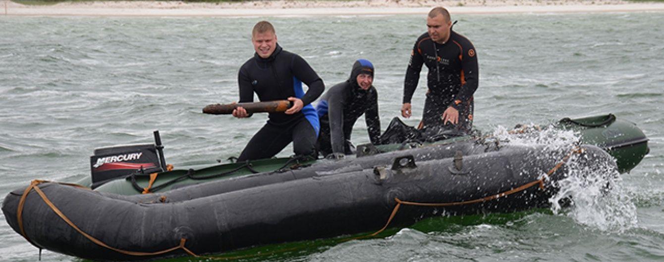 Рятувальники знайшли в акваторії Чорного моря на Миколаївщині півтисячі боєприпасів