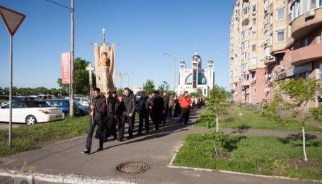 Греко-католики вирушили в пішо-велосипедне паломництво під Київ