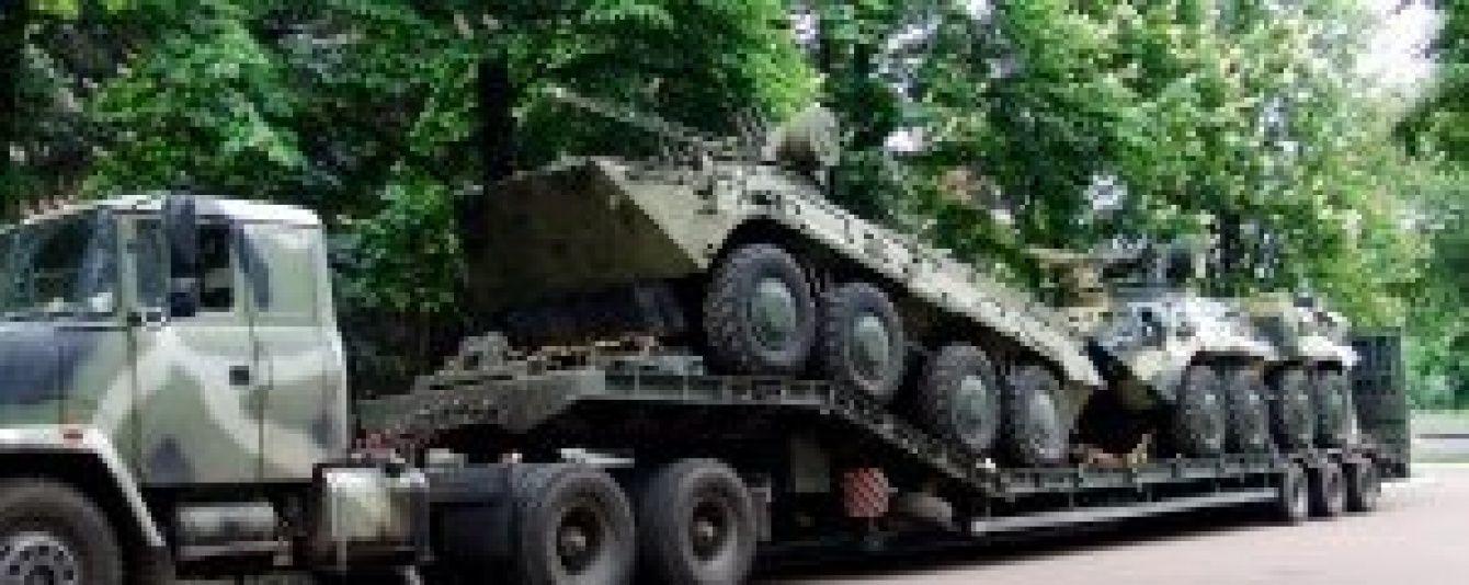 """""""Укроборонпром"""" передав Нацгвардії першу партію броньованих БТРів"""