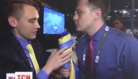 Журналіст ТСН поставив на місце російського колегу після перемоги Джамали