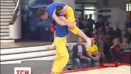 Ветераны АТО приняли участие в Чемпионате Украины по фри-файту