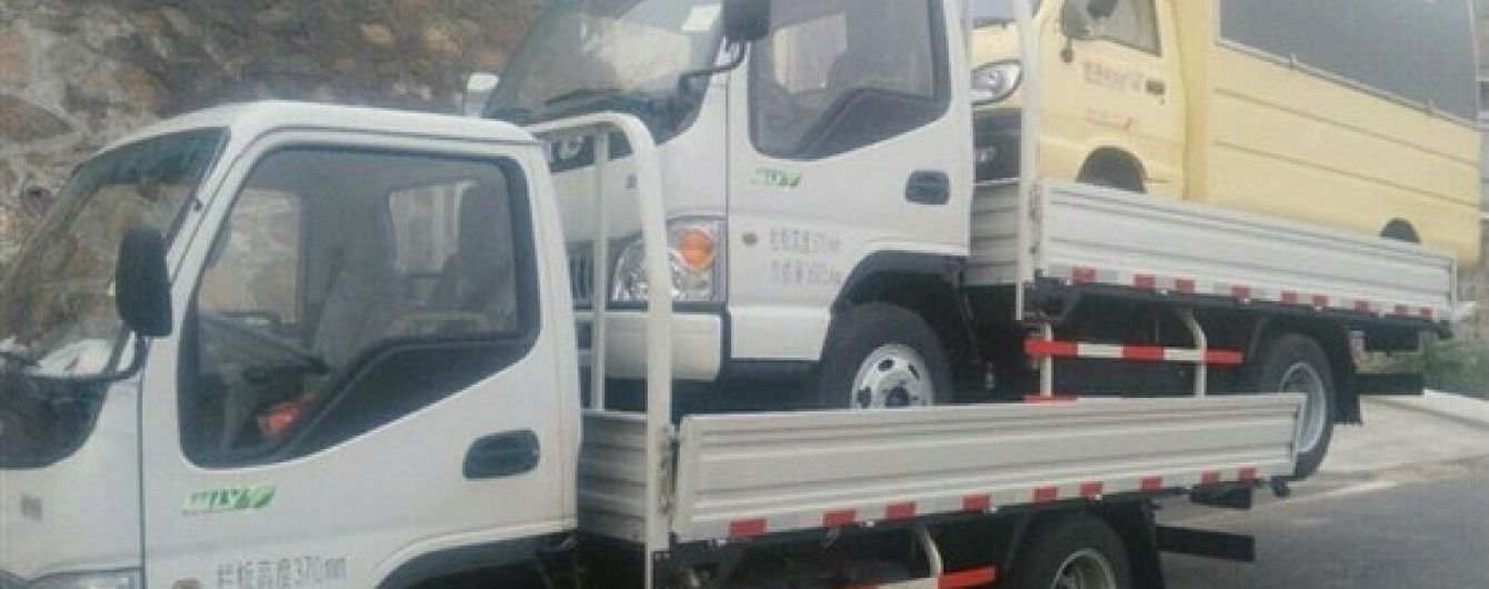 В Китае водитель грузовика удивил местную полицию