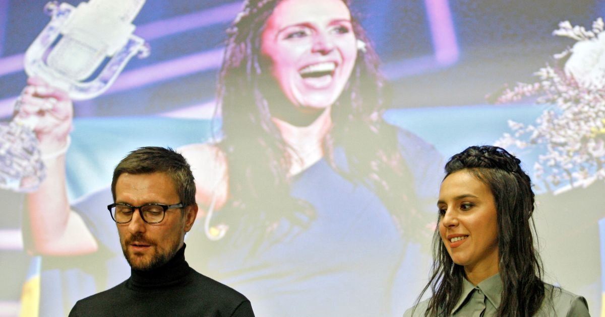 Джамала дала прес-конференцію в Києві @ Getty Images