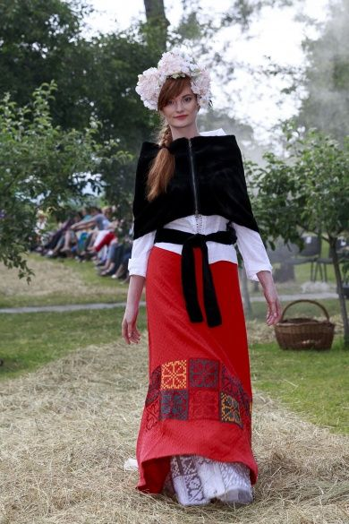 Коллекция Vyshyvanka Couture Третьего Тысячелетия Оксаны Караванской _3