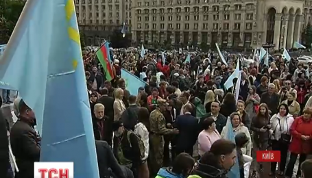 У Києві вшановують роковини депортації кримськотатарського народу